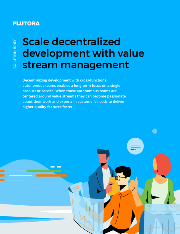 File - Scale decentralized development with value stream management
